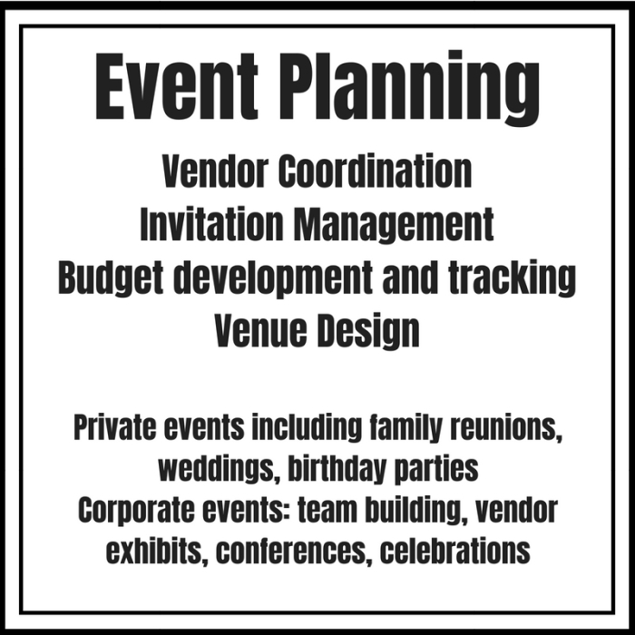 Events Planning